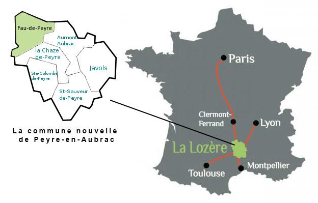 Commune nouvelle de Peyre en Aubrac