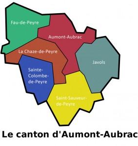 Terre de Peyyre - Carte du Canton