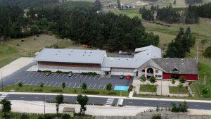 Siège de la nouvelle communauté de communes des Hautes Terres de l'Aubrac