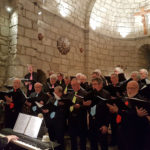 """Le Chœur d'hommes """"Chatel-Vendon"""" en l'église du Fau de Peyre"""